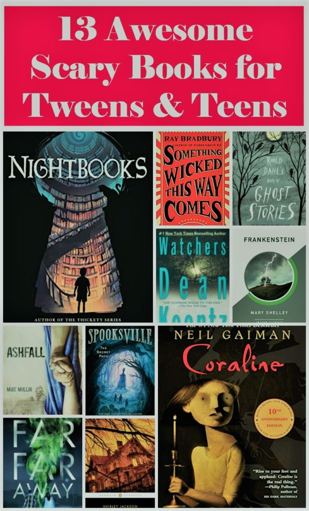 Scary Middle School Books To Read
